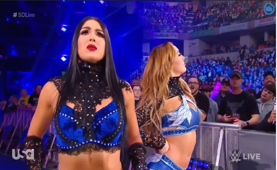 The IIconics SmackDown Live -3-19-2019, The IIconics SmackDown Live, 19 March 2019