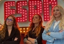 Ronda, Becky and Charlotte appear at ESPN Sportscenter