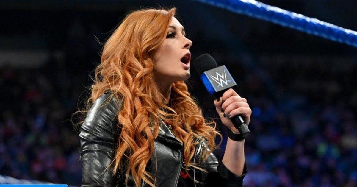Becky is not injured anymore; cuts a promo with Charlotte