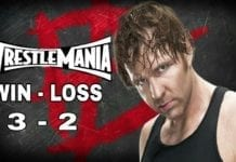 dean ambrose wrestlemania record, dean ambrose wrestlemania wallpaper