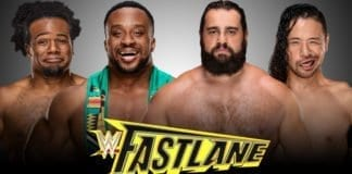 The New Day vs Rusev and Nakamura at Fastlane 2019