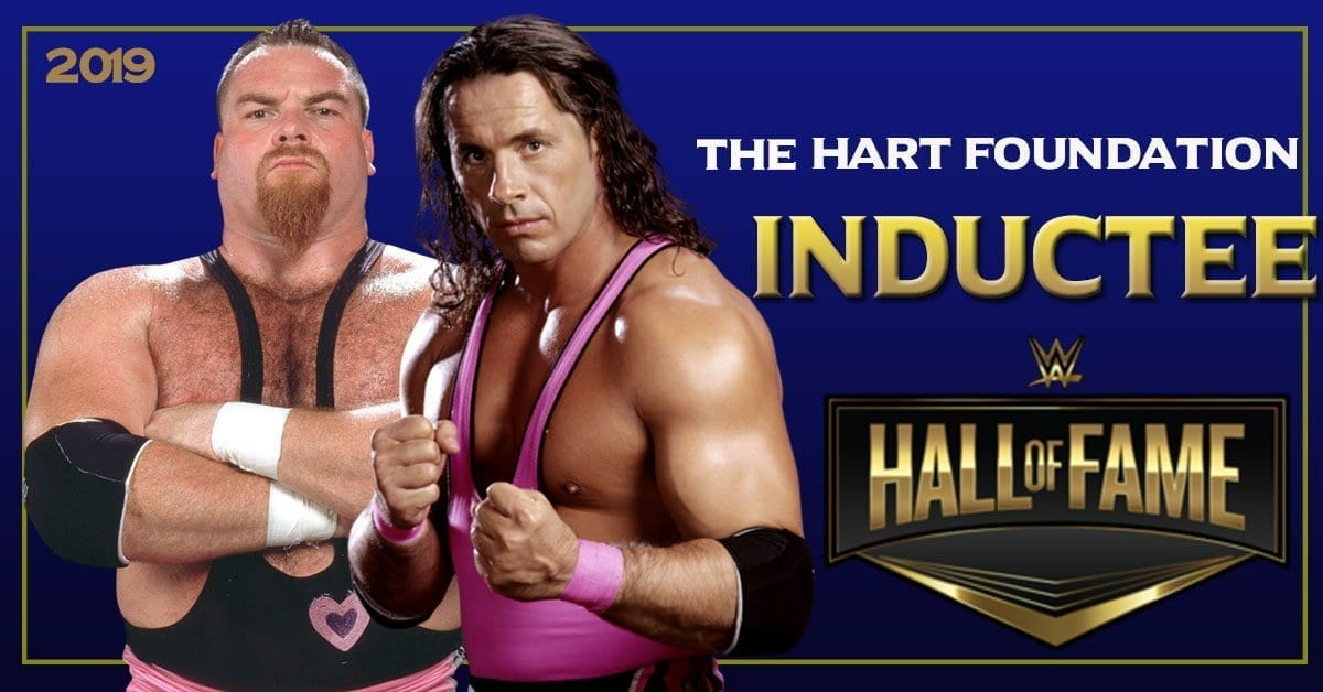 The Hart Foundation WWE Hall of Fame