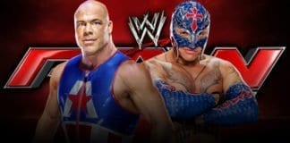 Kurt Angle vs Rey Mysterio RAW