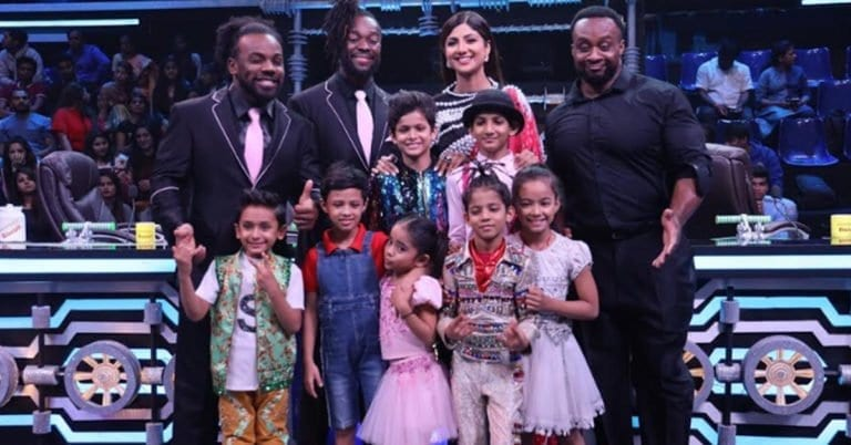 The New Day visit Indian TV Reality show