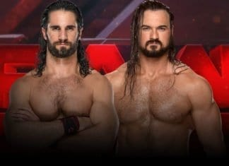 Seth Rollins vs Drew McIntyre, Seth Rollins vs Drew McIntyre RAW 18 March 2019