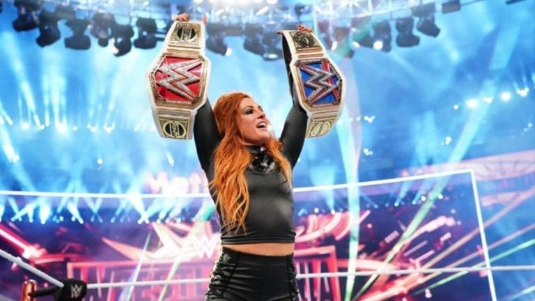 Becky Lynch is on fire over Twitter
