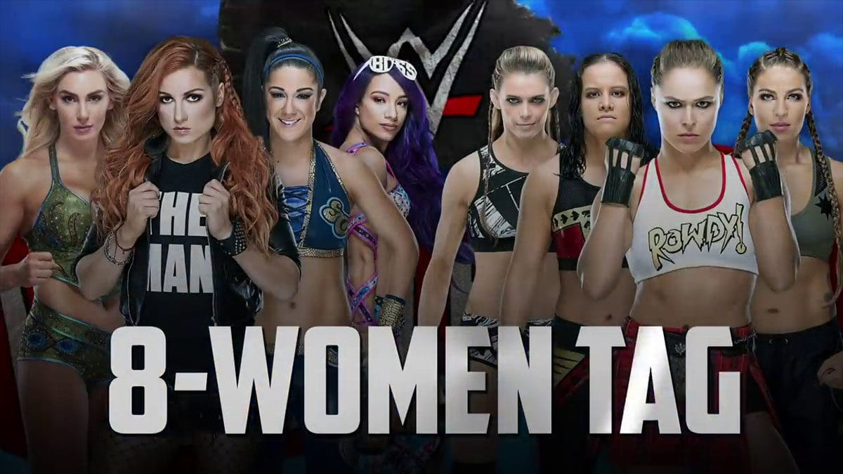 4 Horsewomen WWE vs 4 Horsewomen MMA, WrestleMania 36 Matches,