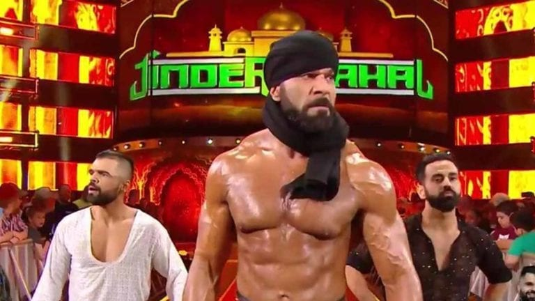 Jinder Mahal moved to SmackDown; Attacked by Lars Sullivan