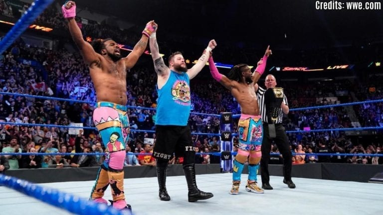 Kevin Owens becomes the honorary member of the New Day