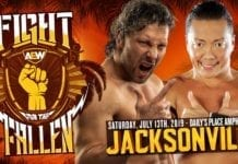 Kenny Omega vs CIMA, Kenny Omega vs CIMA Fight for the Fallen