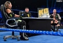 Kevin Owens Show with Randy Orton and AJ Styles