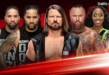 RAW Results 22 April 2019