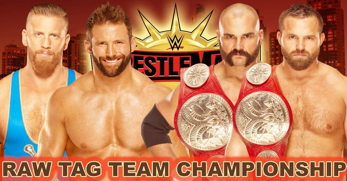 The Revival vs Curt Hawkins and Zack Ryder WrestleMania 35