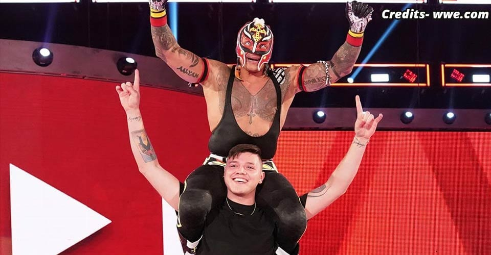 Rey and Dominic Mysterio, Joe Mysterio Rivalry
