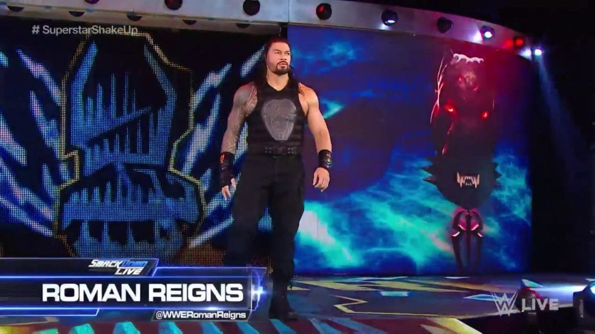 Roman Reigns, Roman Reigns SD 16 April 2019