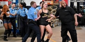 Ronda Rousey, Becky Lynch Arrested