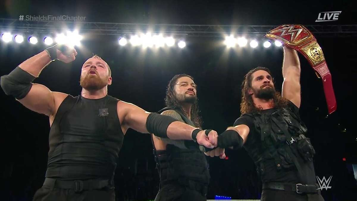 The Shield's Final Chapter, The Shield's Final Match,