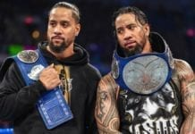 The Usos Tag Team Champions