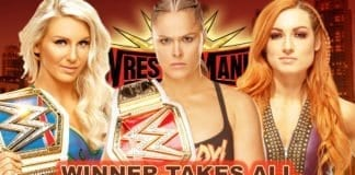 Women Championship WINNER TAKES ALL, WresleMania 35 Main Event Match,