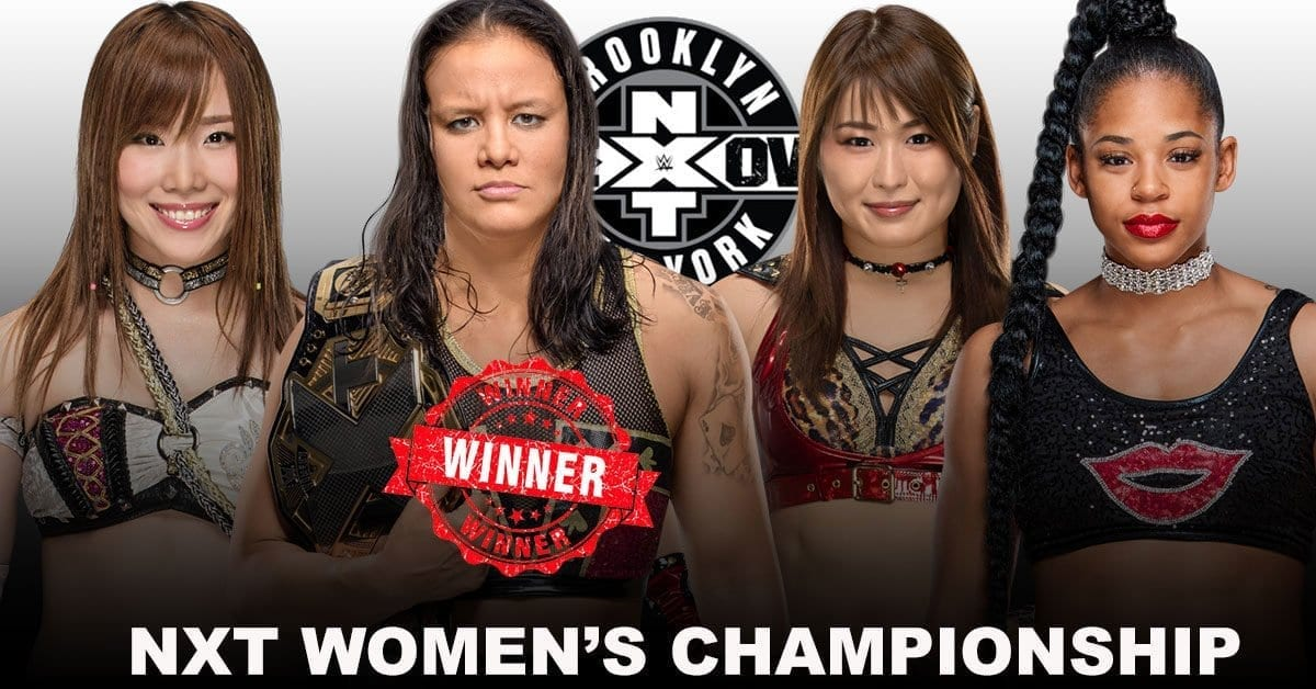 Shayna Baszler retained the NXT Women's Champion, shayna-baszler won falat 4- way match, Shayna Baszler  won in nxt takeover new york 2019