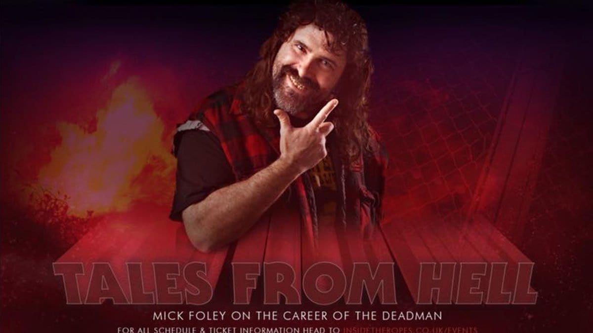 Tells from Hell Poster, Mick Foley Undertaker Q&A
