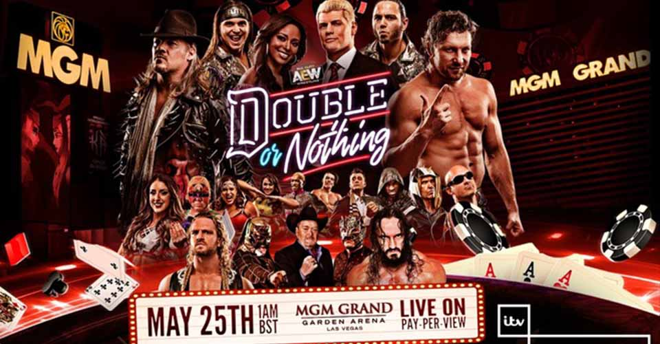 AEW Double or Nothing ITV, Results,