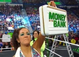 Bayley Won Money In The Bank ladder Match 2019, Bayley Money In The Bank 2019