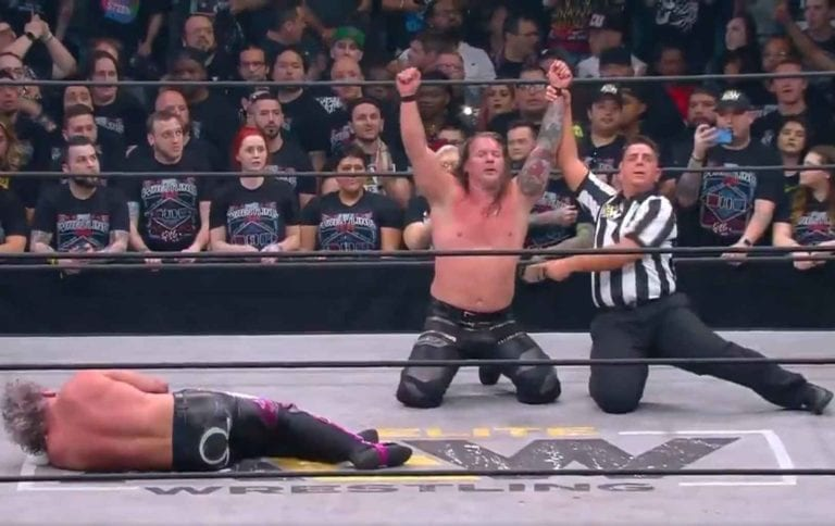 Chris Jericho Defeat Kenny Omega AEW Double or Nothing