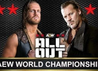 Chris Jericho vs Adam Page Aew World Championship All out, Aew First world Championship