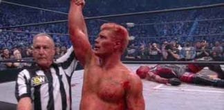 Cody Rhodes Beat Dustin AEW Double or Nothing