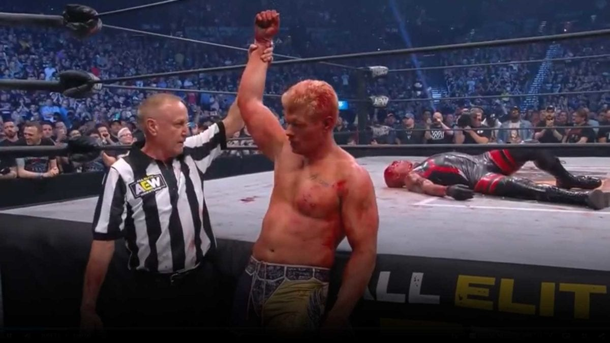 Cody Rhodes Beat Dustin Rhodes at Double Or Nothing