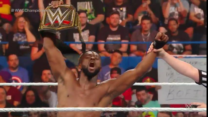 Kofi Kingston Retain WWE Championship at Money In The Bank 2019, Kofi Kingston Money In The Bank 2019