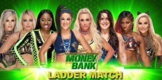 Money In The Bank 2019 Women's Ladder match 2019. Money In the Bank 2019 matches