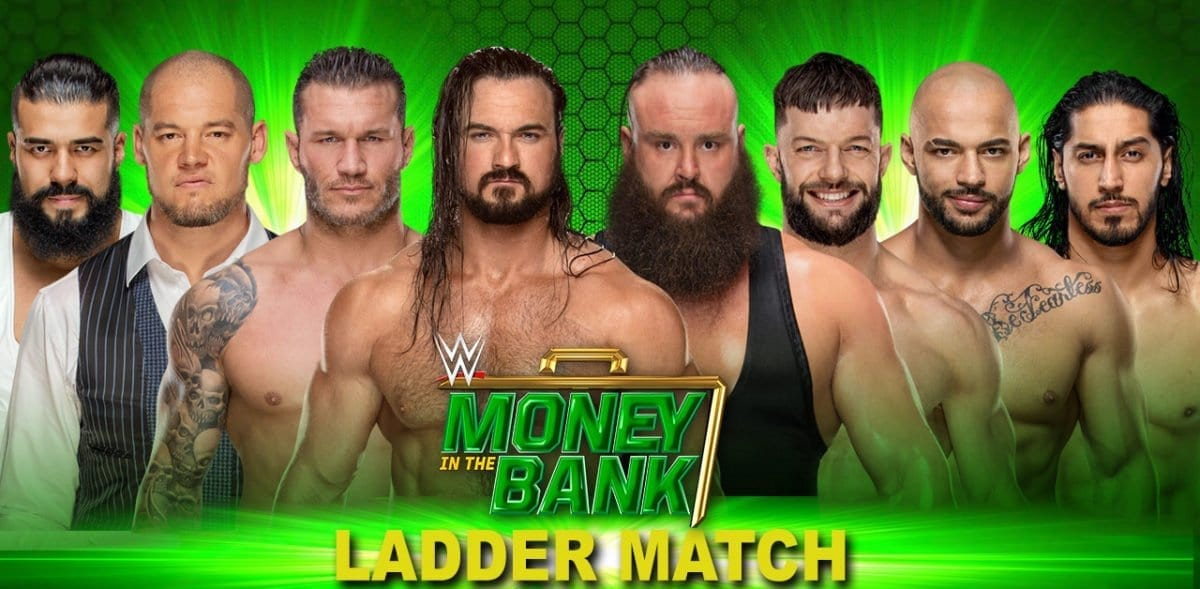 Men's Ladder Match Money In The Bank 2019, Money In The Bank 2019 Match card