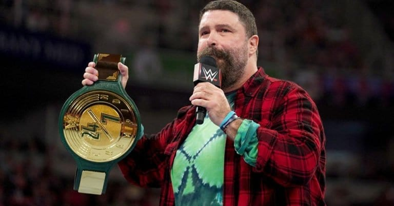 Watch: Mick Foley Announces He Tested Positive For COVID-19