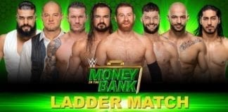 Money in the bank 2019 mens ladder match, Sami Zyan Money in the Bank 20192019