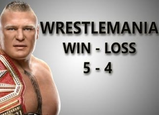 Brock Lesnar WrestleMania Matches Wallpaper, brock lesnar wrestlemania Record Wallpaper