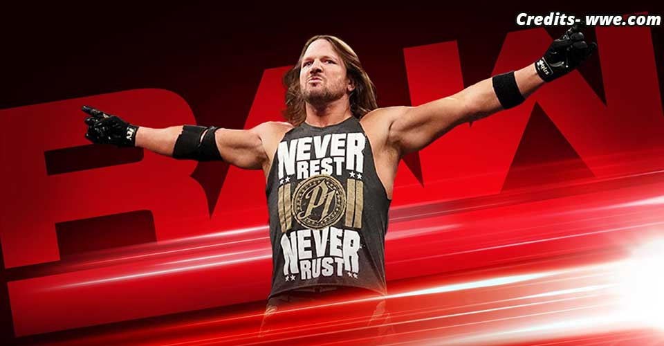 AJ Styles RAW Preview 6 May 2019