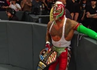 Rey Mysterio United state champion Money in the bank 2019, Rey mysterio Money in the bank 2019