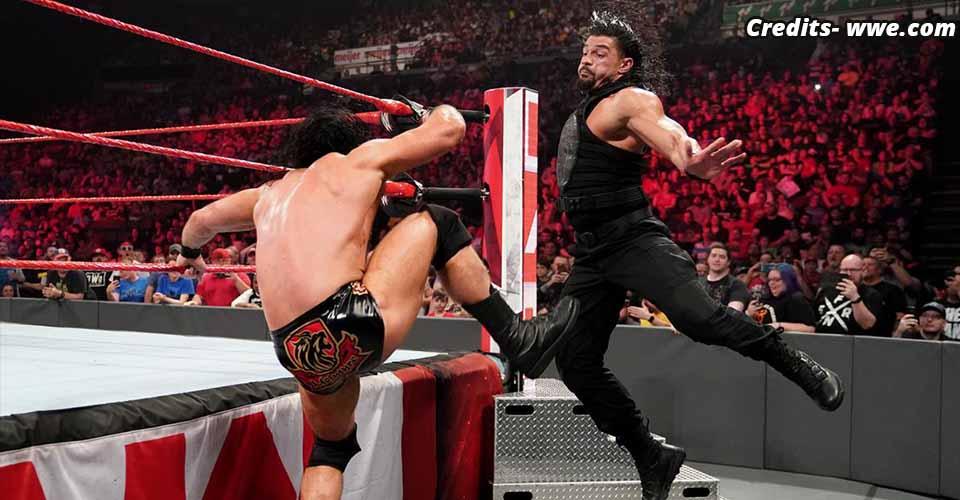 Roman Reigns vs Drew McIntyre RAW 6 May 2019