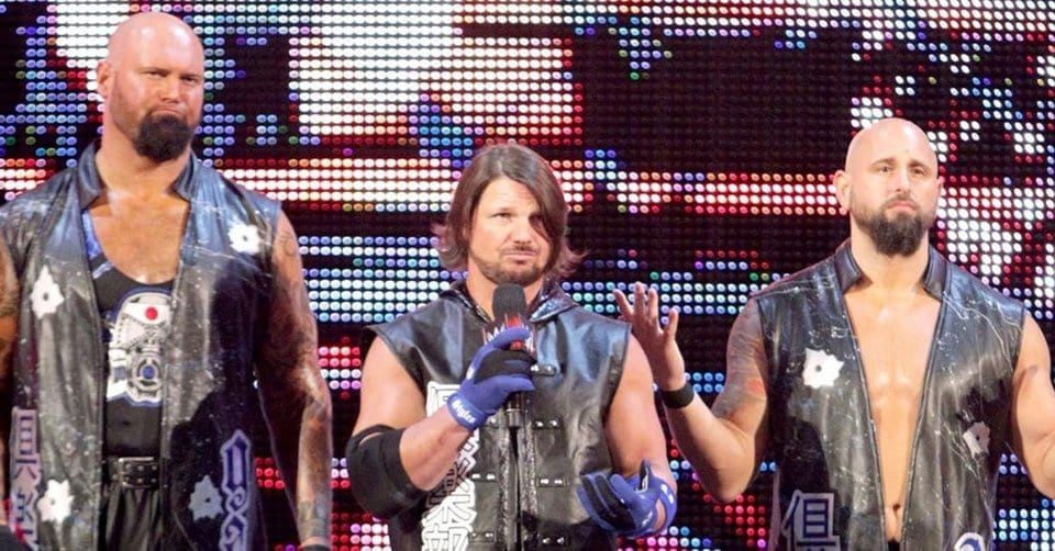 The Club WWE, AJ Styles Gallows and Anderson the Club WWE,