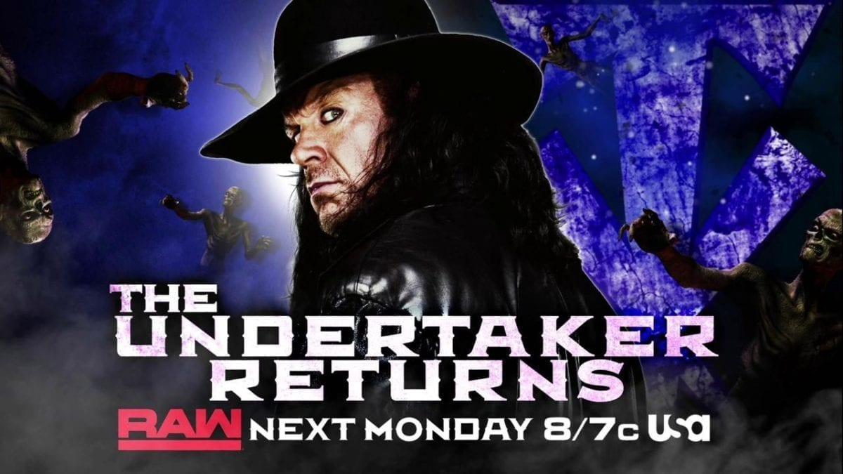 Undertaker Returns RAW 3 June 2019