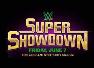 WWE Super Showdown 2019 Poster, WWE Super Showdown 2019