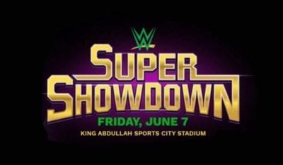WWE Super Showdown 2019 Poster