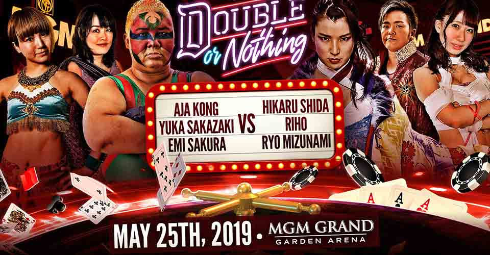 Women Tag Team Match Double Or Nothing