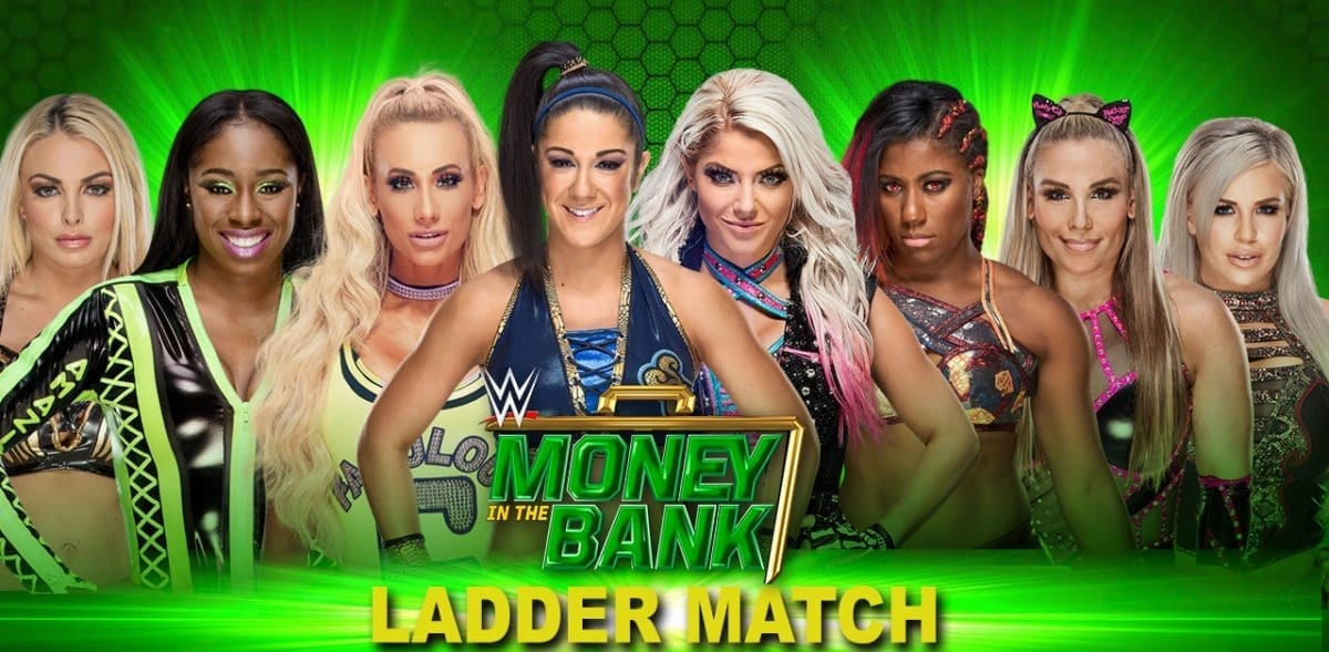 Women's Ladder Match Money In The Bank 2019, Money In The Bank 2019 Match card