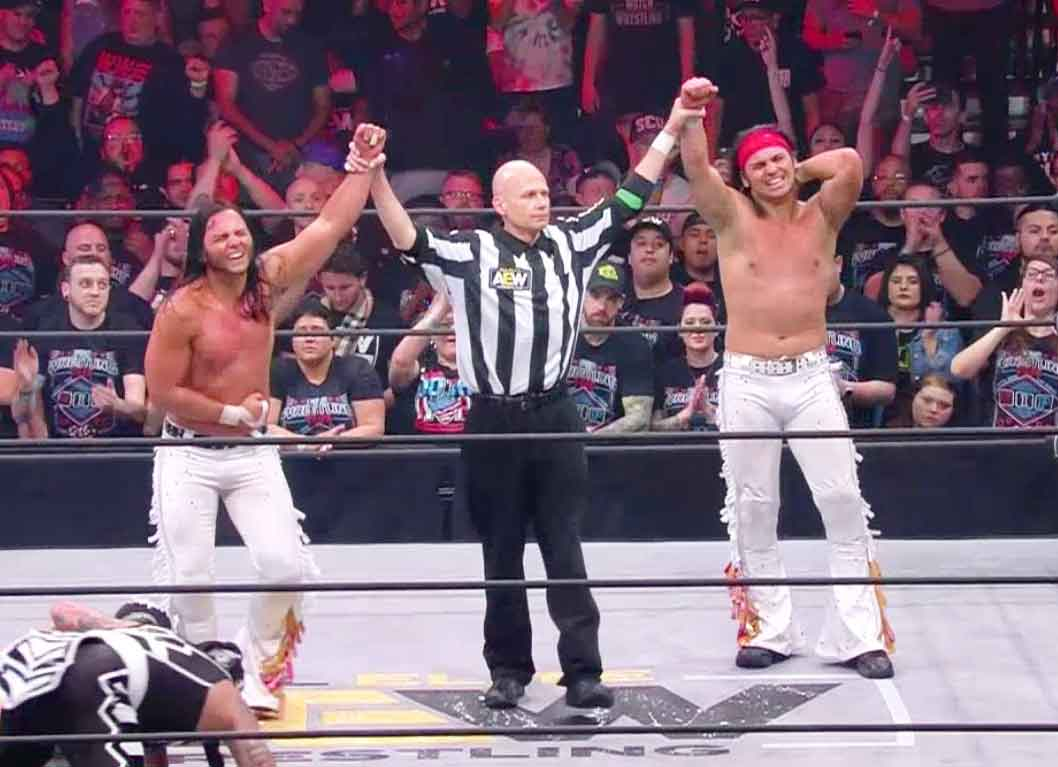 Young Bucks at Double or Nothing