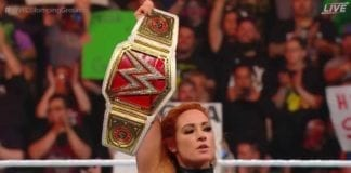 Becky Lynch at Stomping Grounds 2019