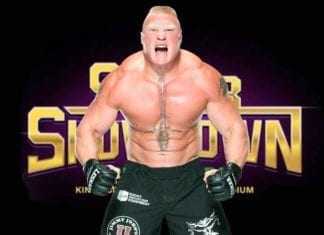 Brock Lesnar Super ShowDown Spoilers