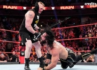 Brock Lesnar demolishes Seth Rollins RAW 3 June 2019